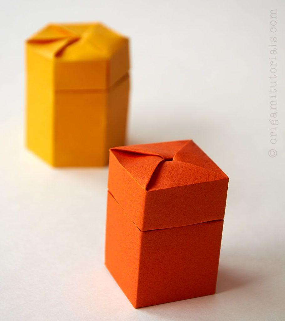 Self Closing Origami Twist Box Origami Tutorials Origami Tutorial Origami Origami Techniques