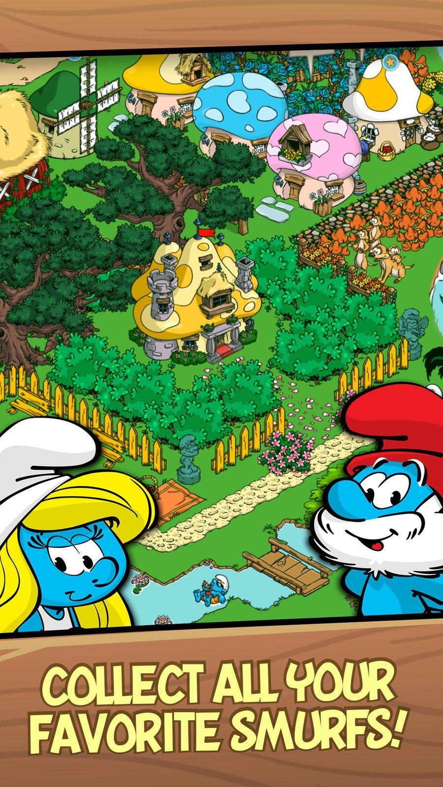 Smurfs' Village EntertainmentGamesFamilyios (avec