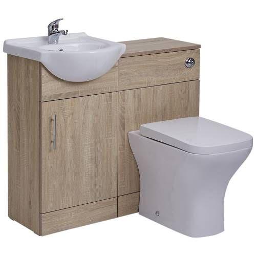 Hudson Reed Meuble-lavabo  Toilette WC 41x78x30cm Baños Pinterest