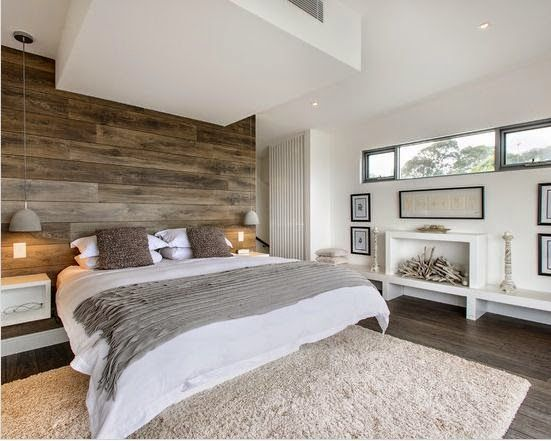 Dormitorio estilo rstico moderno decoracion Pinterest Estilo