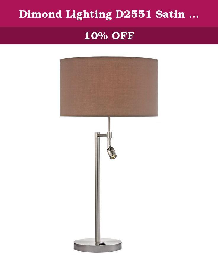 Dimond Lighting D2551 Satin Nickel Table Lamp Beaufort Is A Satin Nickel Table Lamp With A Satin Nickel Finish And A 3 With Images Nickel Table Lamps Dimond Lighting Lamp
