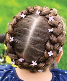 Trenzas Divertidas Para Tu Pequena Peinados Para Vanne