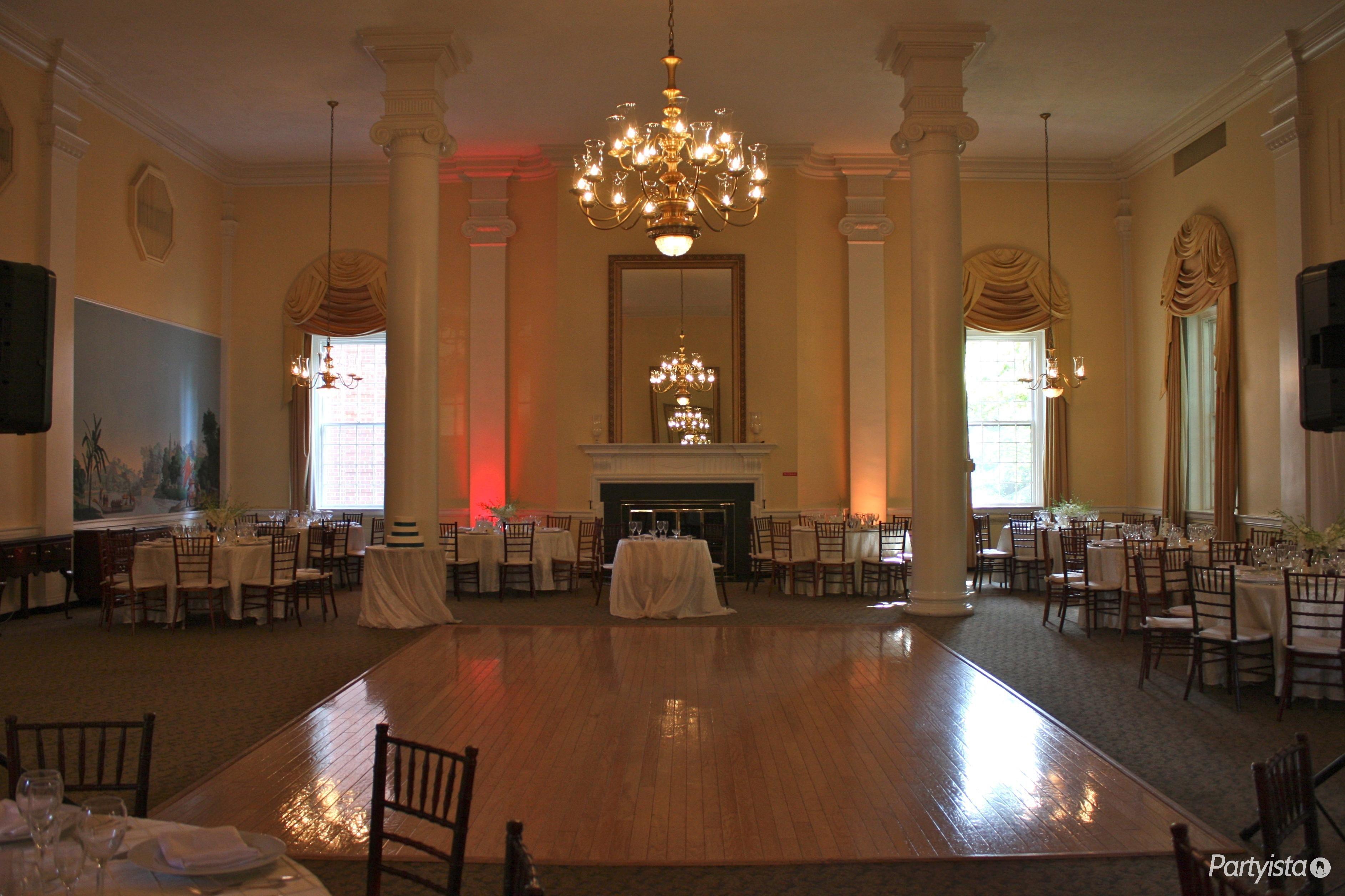 McLean Gardens Ballroom | www.partyista.com | DC Wedding Venues ...
