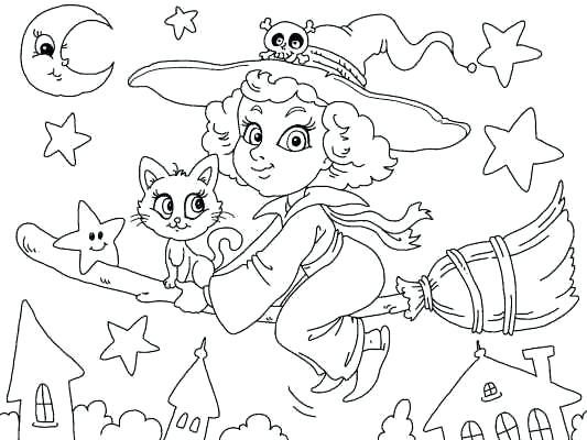 Cute Halloween Coloring Sheets A Cute Witch Coloring Page For Many More Coloring Pages Witch Coloring Pages Halloween Coloring Pages Halloween Coloring Sheets
