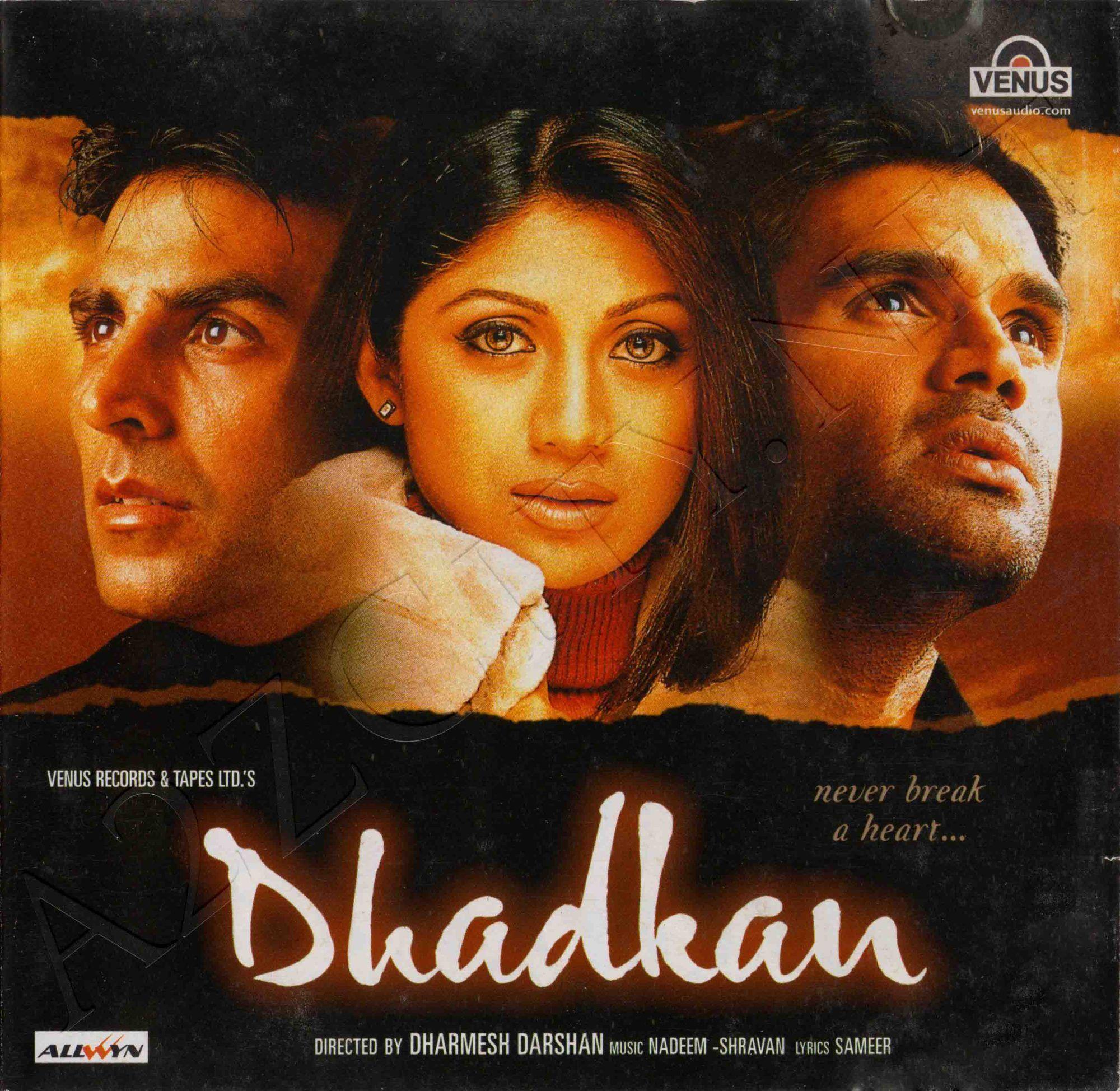 Dhadkan 2000 Flac Latest Movie Songs Hindi Movies