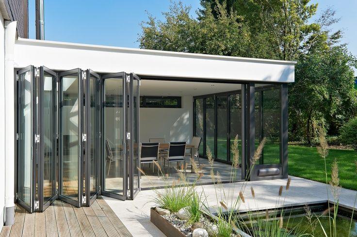 villa's met glazen uitbouw/serre - Google Search