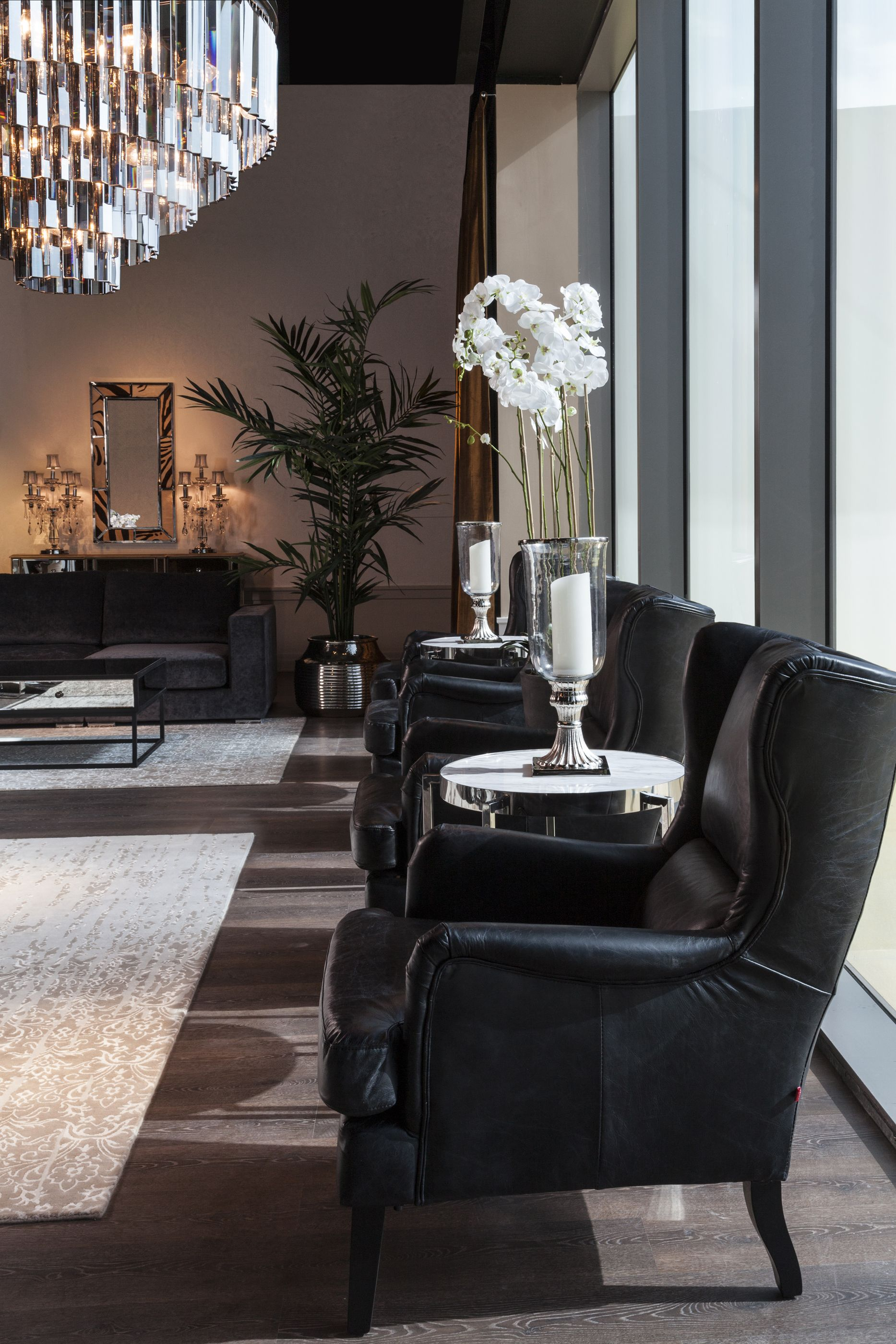 Living Rebeluxe Sleek Design Led Modern Classics Combine With Unexpected Statemen Luxury Furniture Living Room Contemporary Living Room Contemporary Living #sleek #modern #living #room