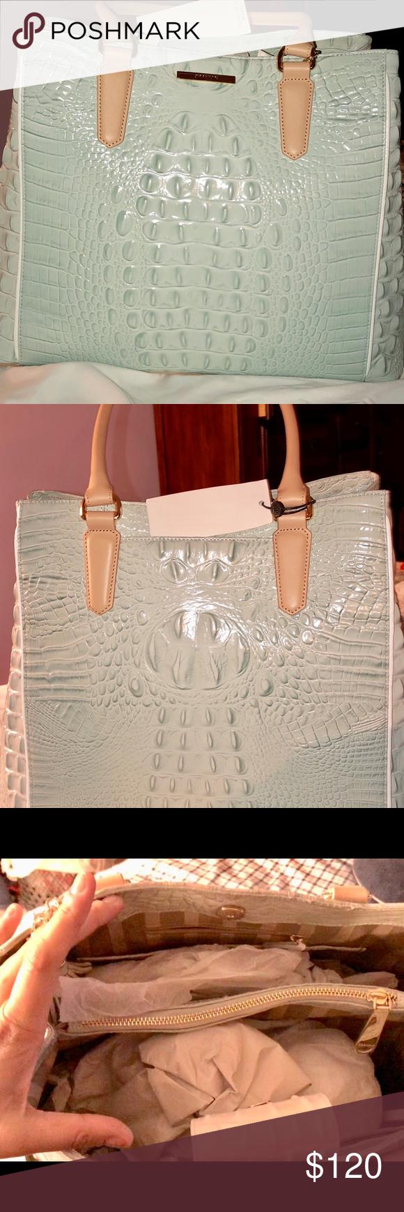 Spotted while shopping on Poshmark  Brahmin Tote Satchel Joan Seaglass  Vineyard New!!  poshmark  fashion  shopping  style  Brahmin  Handbags 471c5d23a6