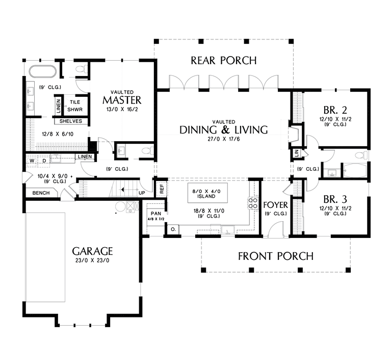 Image For Cary Incredibly Well Laid Out Dream Home Floor Plan Main Floor Plan Farmhouse Style House Plans House Plans Farmhouse Floor Plans