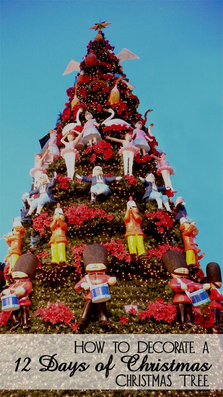 Origin Of 12 Days Of Christmas.How To Decorate A 12 Days Of Christmas Christmas Tree
