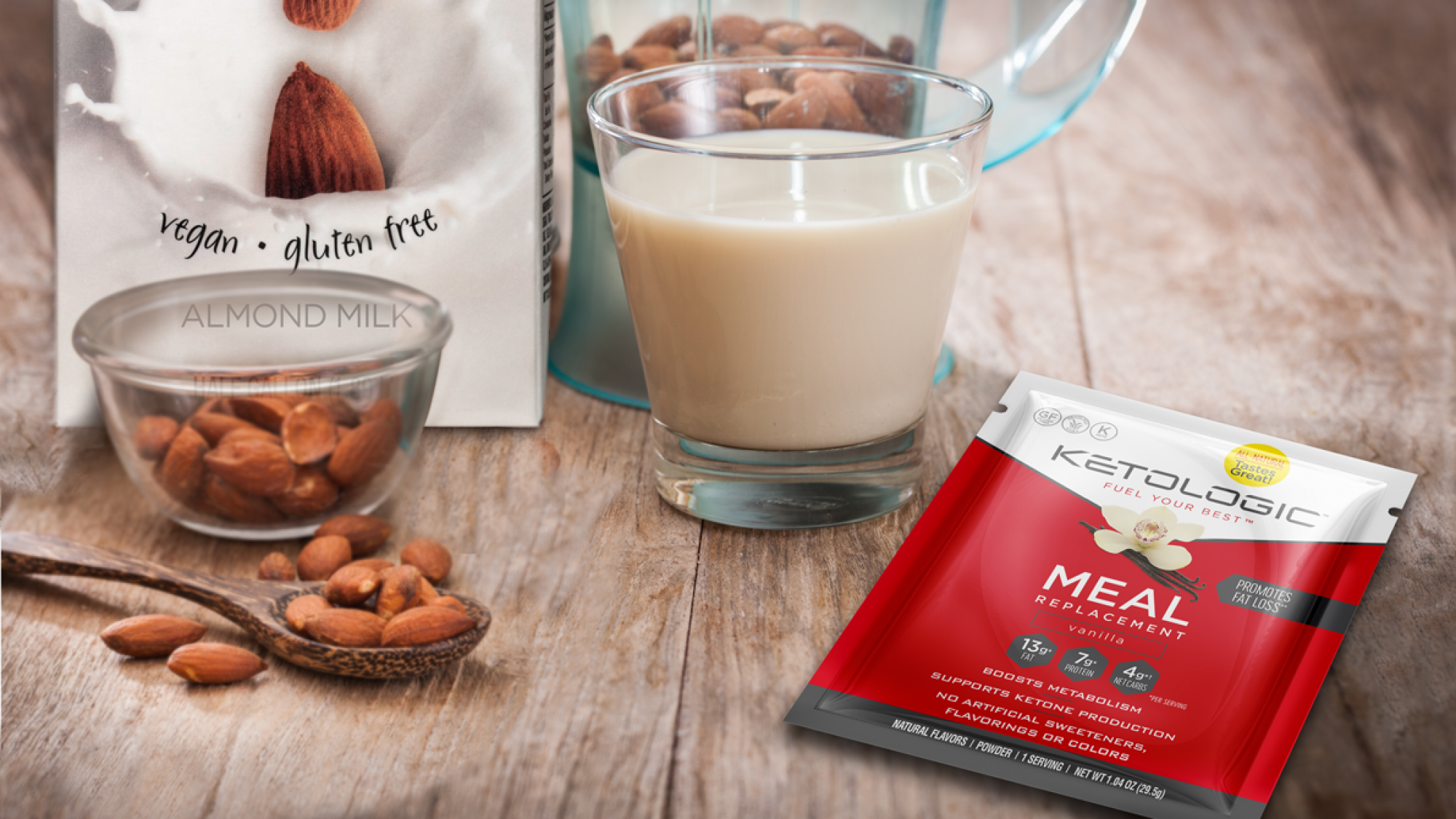 almond milk sauce for keto diet