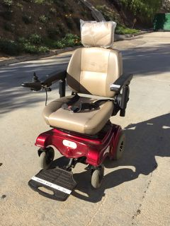 Liberty 312 Electric Wheelchair Outdoor Power Equipment Medical Equipment Lawn Mower