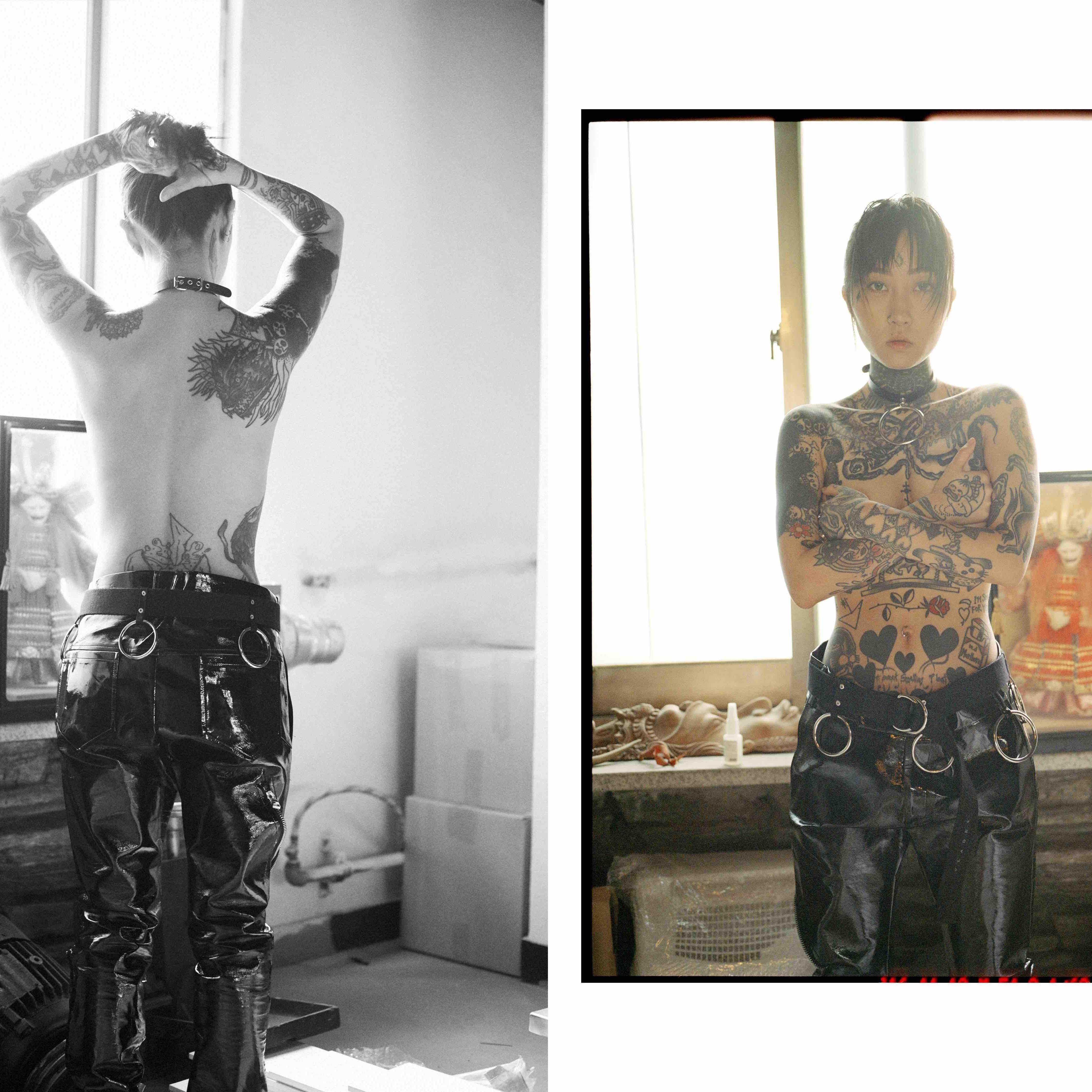 inside the underground subculture of female korean tattoo
