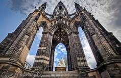 The Scott Monument, Edinburgh, is a Victorian Gothic monument to Scottish author Sir Walter Scott