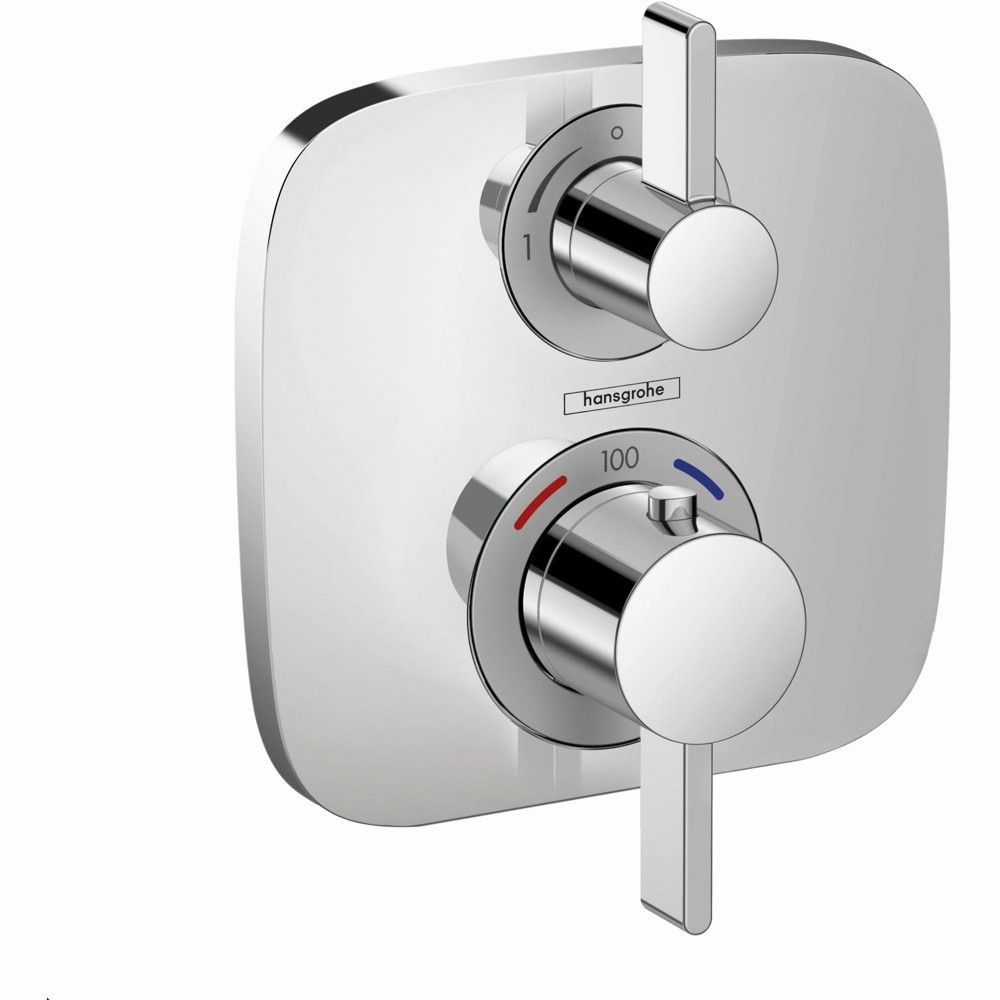 Hansgrohe 15708 Ecostat Dual Function Thermostatic Valve Trim Only