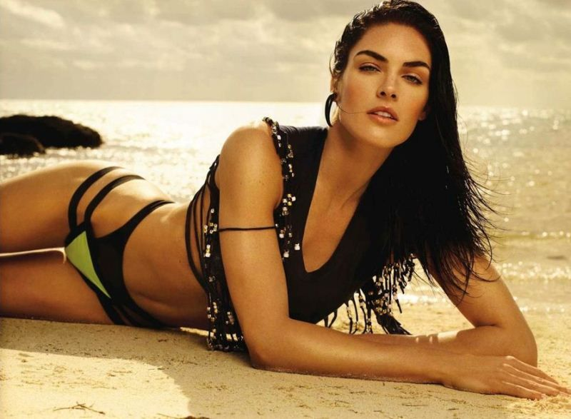 Pin by galina on supermodels pinterest vogue spain spain and june hilary rhoda hits the beach in miguel reveriegos editorial for spanish vogue magazine styled by katie mossman hilary wears givenchy michael kors etro ccuart Image collections