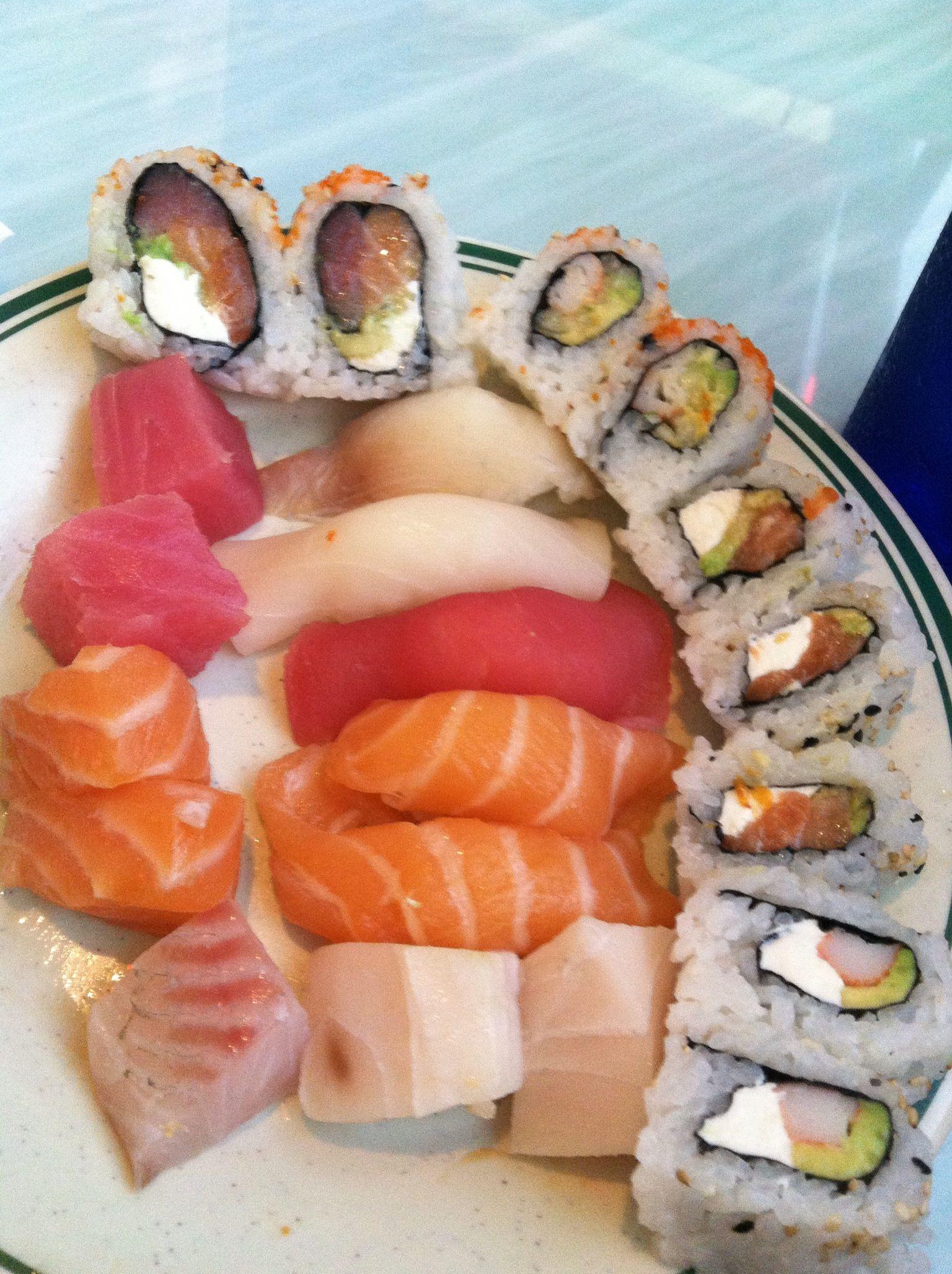 I love sushi sushi food eat