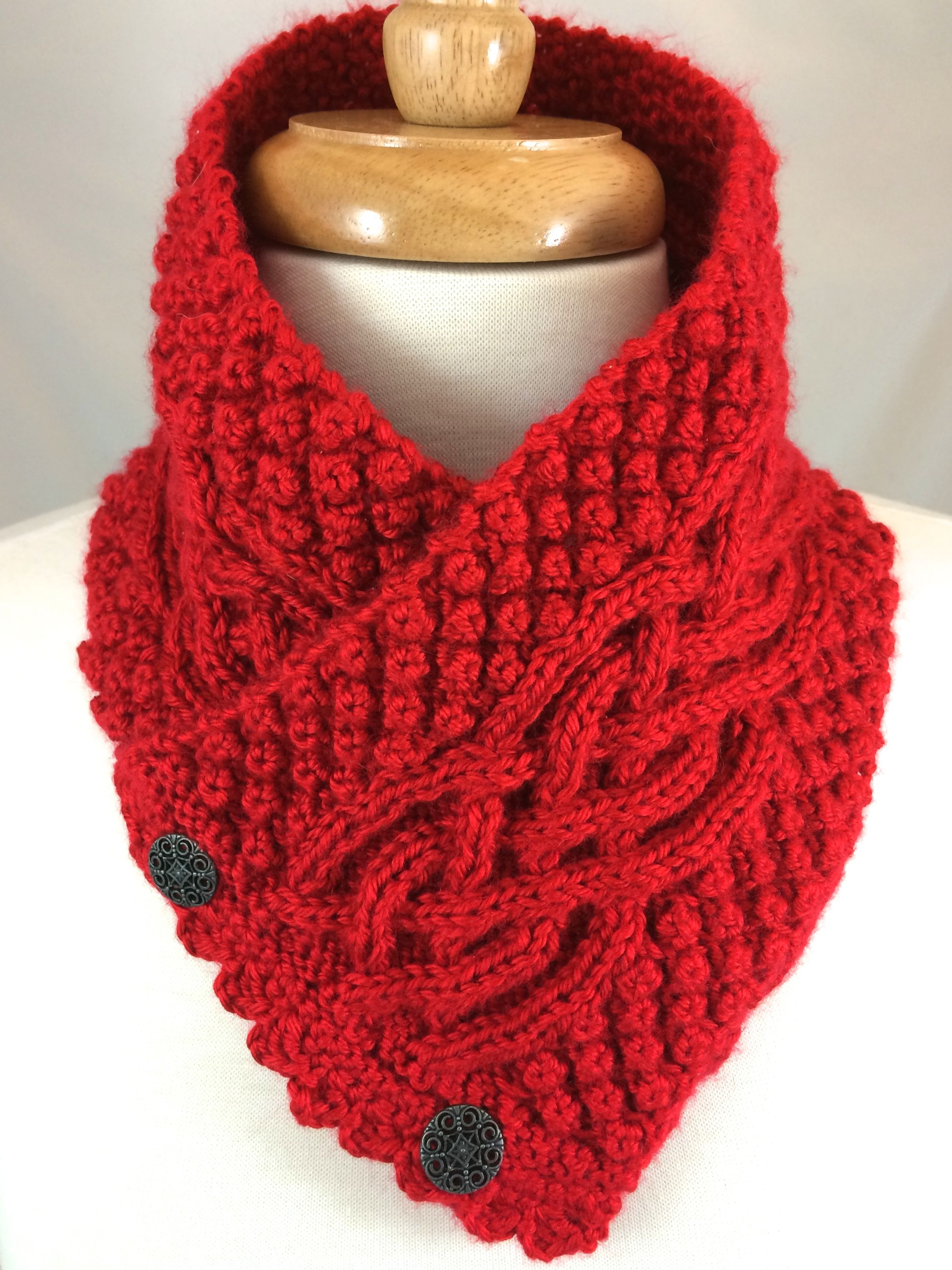 Irish celtic scarf neck warmer in harvest red cpromo wonderful irish celtic scarf neck warmer in harvest red cpromo bankloansurffo Image collections