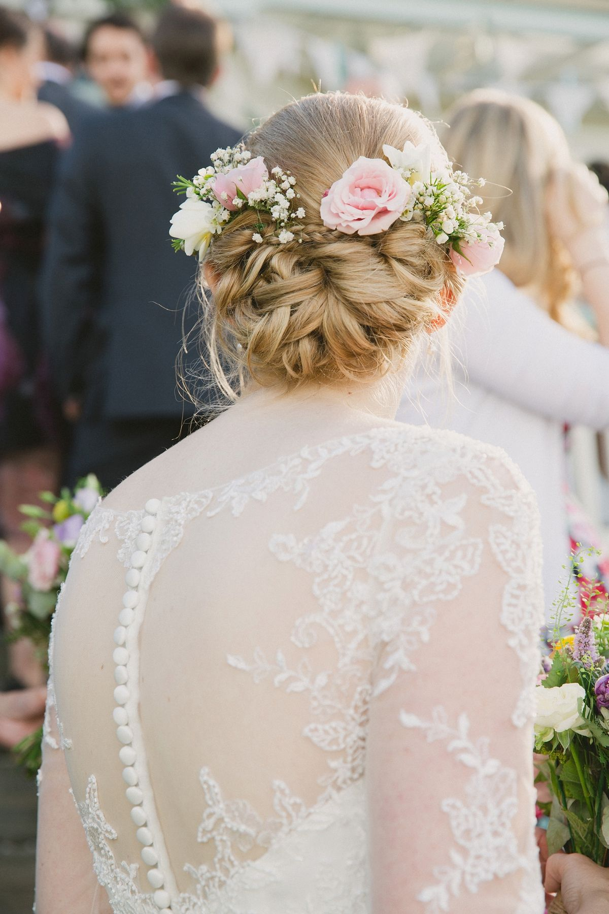 A tealength gown for a charming seaside wedding in whitstable