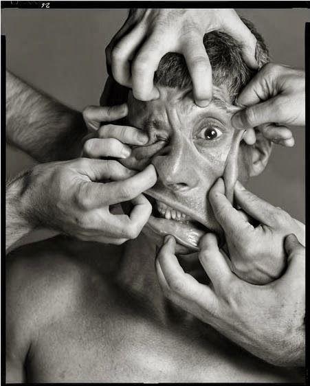 Richard Avedon: Maurizio Cattelan, artist, New York, 2004