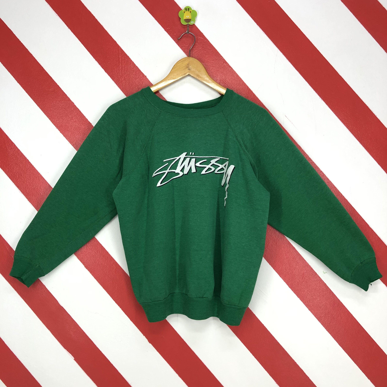Vintage Stussy Crewneck Pullover Jumper Sweatshirt
