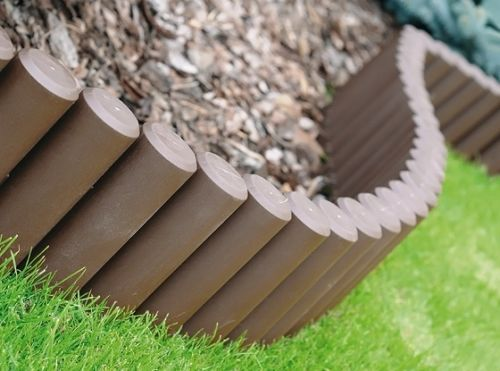High Quality HQ Very Strong Garden Fence Lawn Edging Boarder Edge Palisade Fencing 2 1 M
