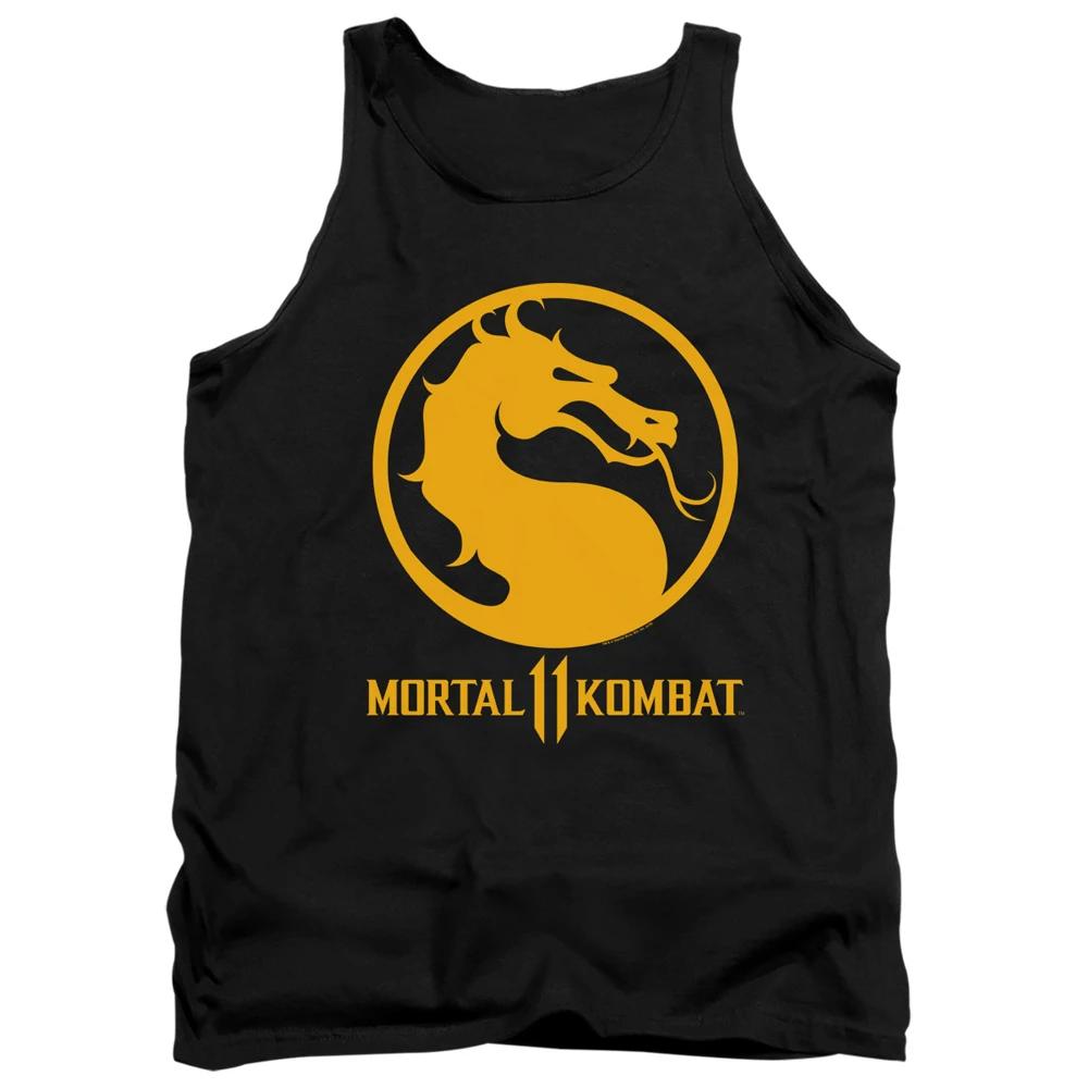 Mortal Kombat 11 Dragon Logo Tank Top In 2021 Tank Tops Mens Tank Tops Tank Man