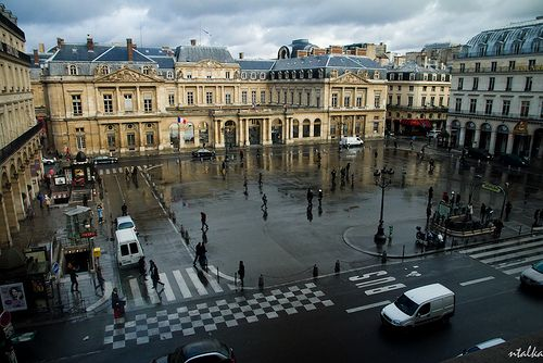 View from Louvre, Paris