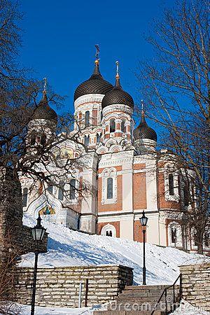 Alexander Nevsky cathedral. Tallinn