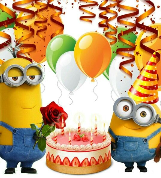 Birthday With Images Happy Birthday Minions Happy Birthday