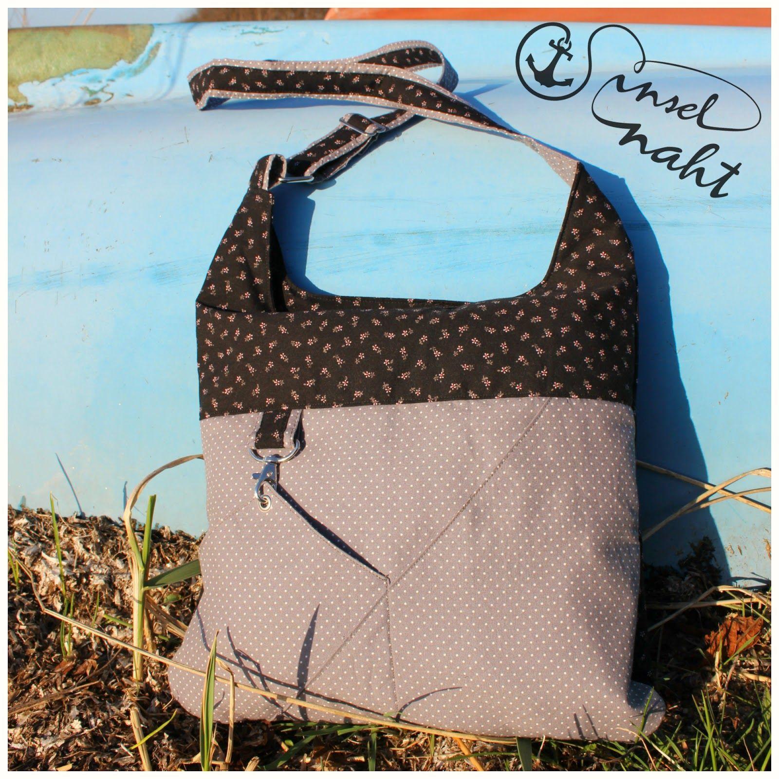 insel-naht: Eine neue Tasche und ein Tutorial | purse | Pinterest ...