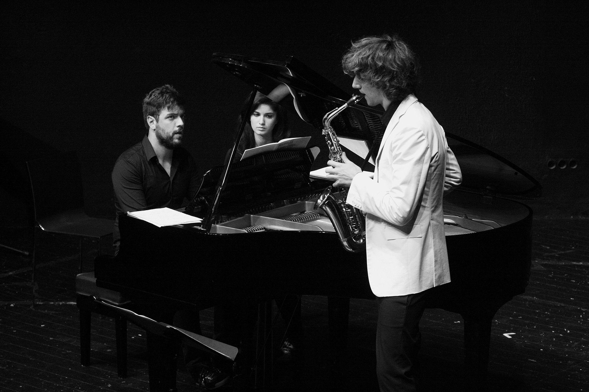 Jacopo Taddei, sassofono, Luigi Nicolardi, pianoforte