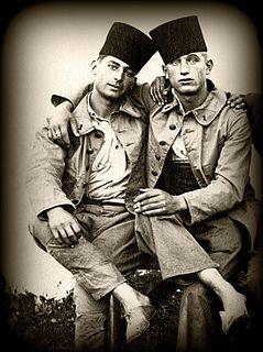 belle et touchante fraternité entre deux spahis - collection Reynald ARTAUD | Flickr - Photo Sharing!