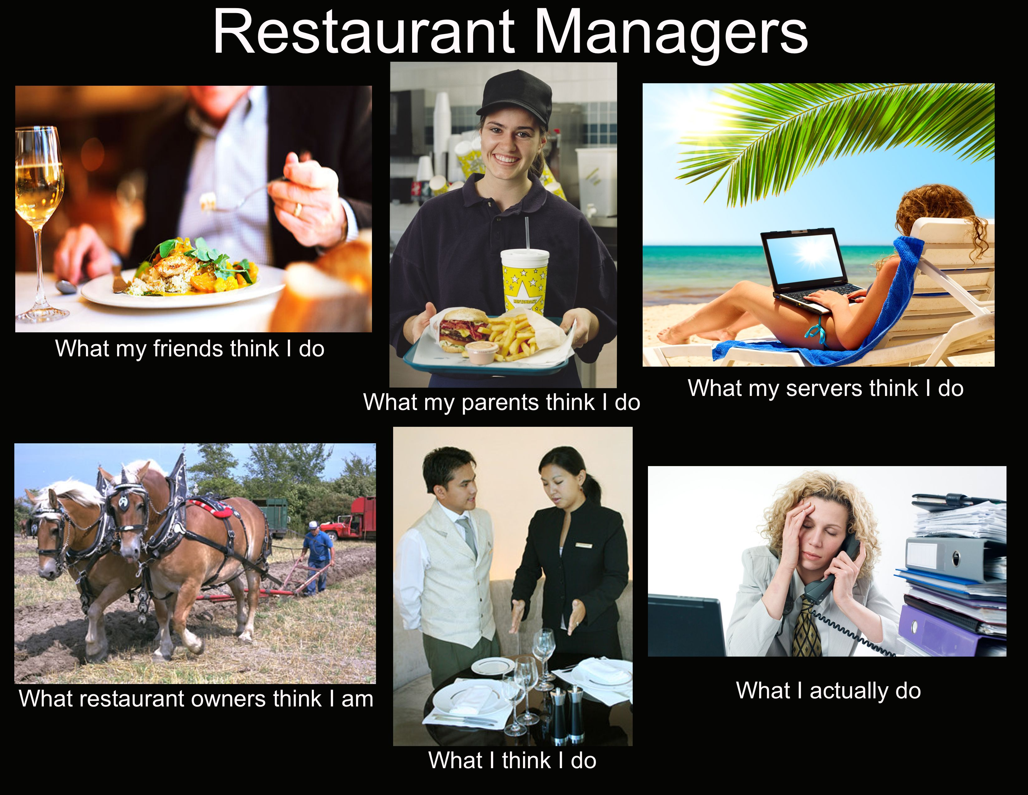 For John Restaurant Humor Restaurant Management Restaurant Memes