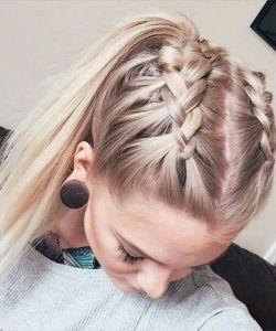 10 einfache stilvolle geflochtene Frisuren für langes Haar – inspirierte kreative geflochtene Frisur Ideen – Madame Friisuren