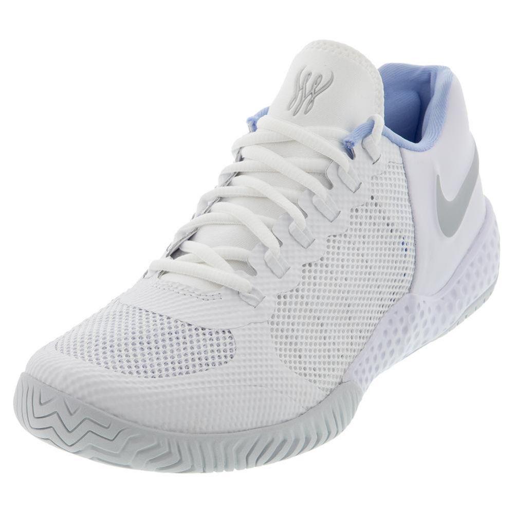 Women S Nike Flare 2 Hc Tennis Shoes Av4713 100 Tennis Express Nike Tennis Shoes Tennis Shoes Tennis Court Shoes