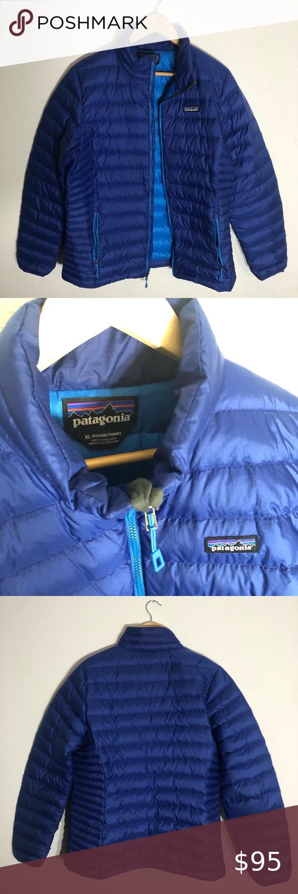 Patagonia Puffer Full Zip Jacket Size Xl Royal Blue Jacket Zip Jackets Jackets [ 1740 x 580 Pixel ]