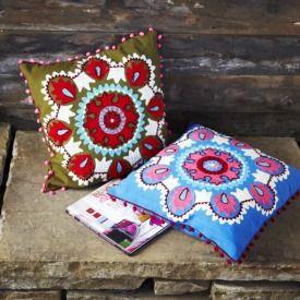 Kashmiri Embroidered Cushion