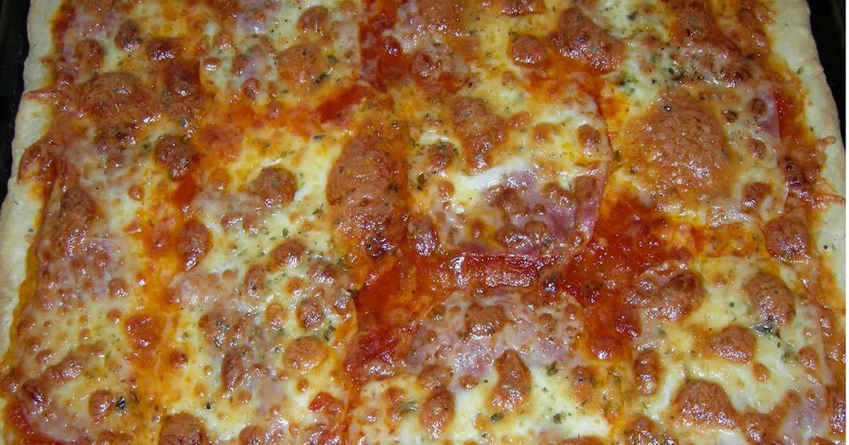 Masa De Pizza Casera Y Fácil Receta De Lauradaluzgrumberg Receta Masa De Pizza Casera Masa Para Pizza Pizza Casera