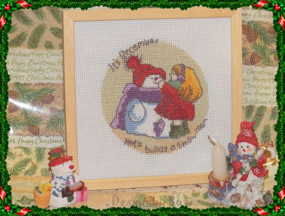 ☃ 1. adventná nedeľa: December ☃ Margaret Sherry - Calendar 2009: It´s December