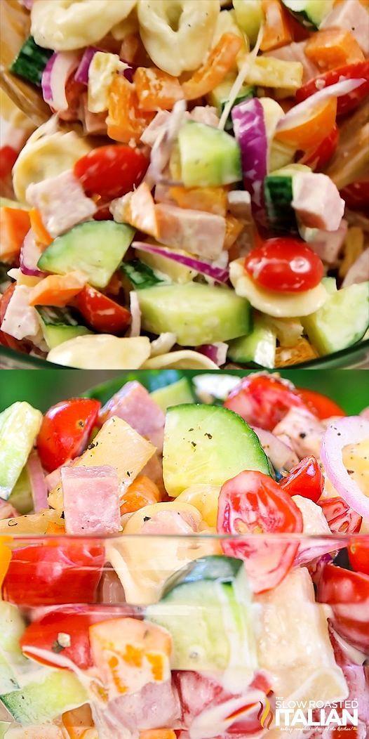 Tortellini Nudelsalat    - Yea-#easysummerrecipes