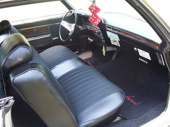 Phenomenal 1969 Chevy Impala Front Seat 69Hardtop Convs Gmtry Best Dining Table And Chair Ideas Images Gmtryco