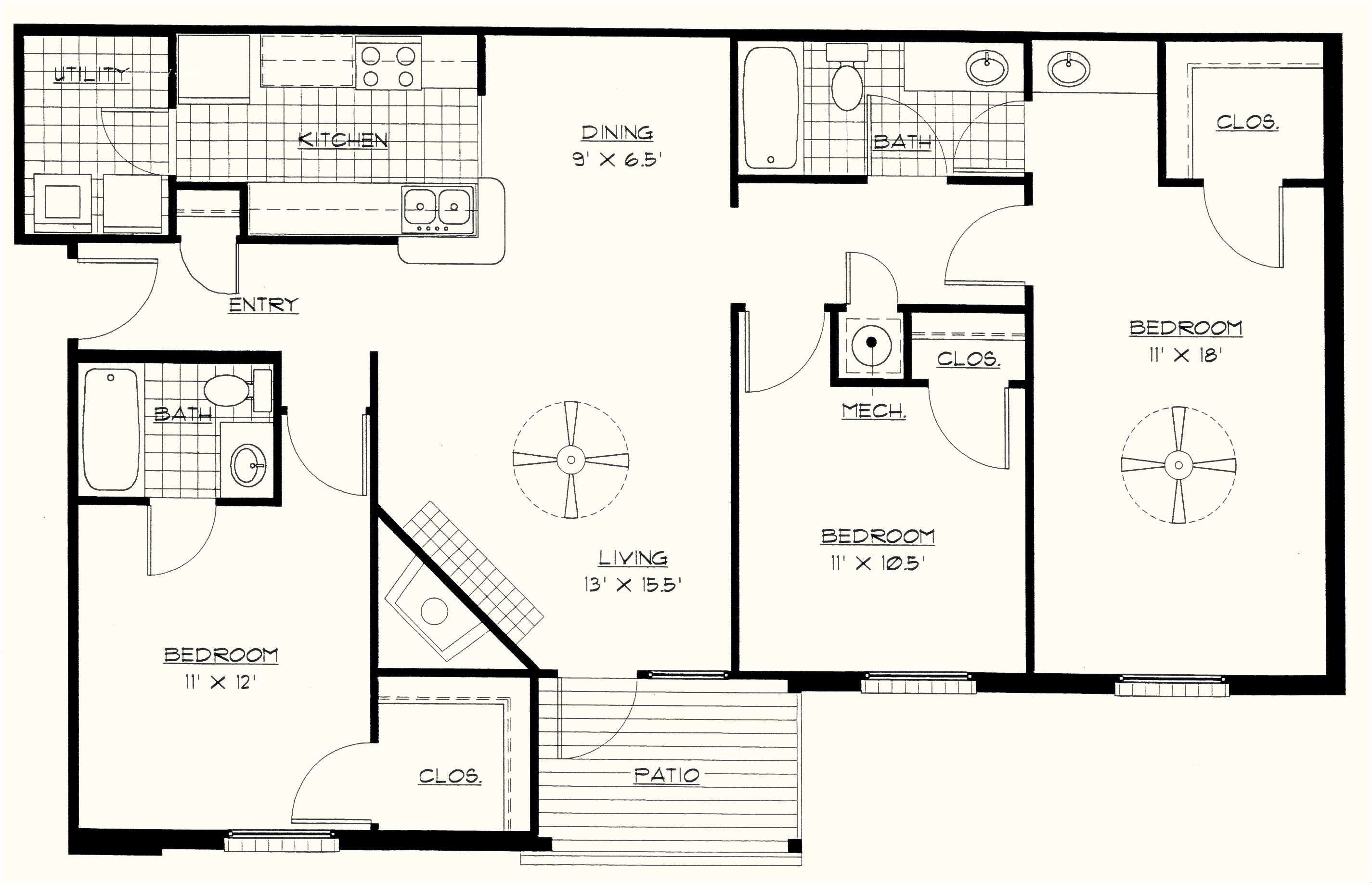 Good Bedroom Floor Plan | Bedroom | Pinterest | Bedrooms, Large Bedroom And Cozy  Place