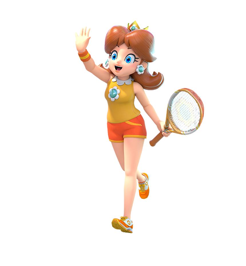 Daisy S New Mario Tennis Aces Artwork By Trulyprincessdaisy On Deviantart Princess Daisy Mario Mario Cosplay
