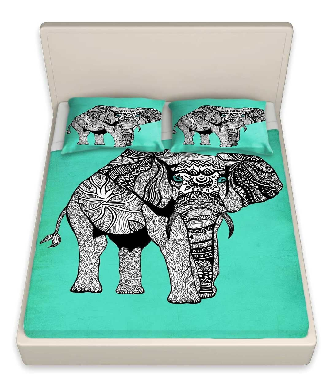 Elephant of Namibia bedding by Pom Graphic Design