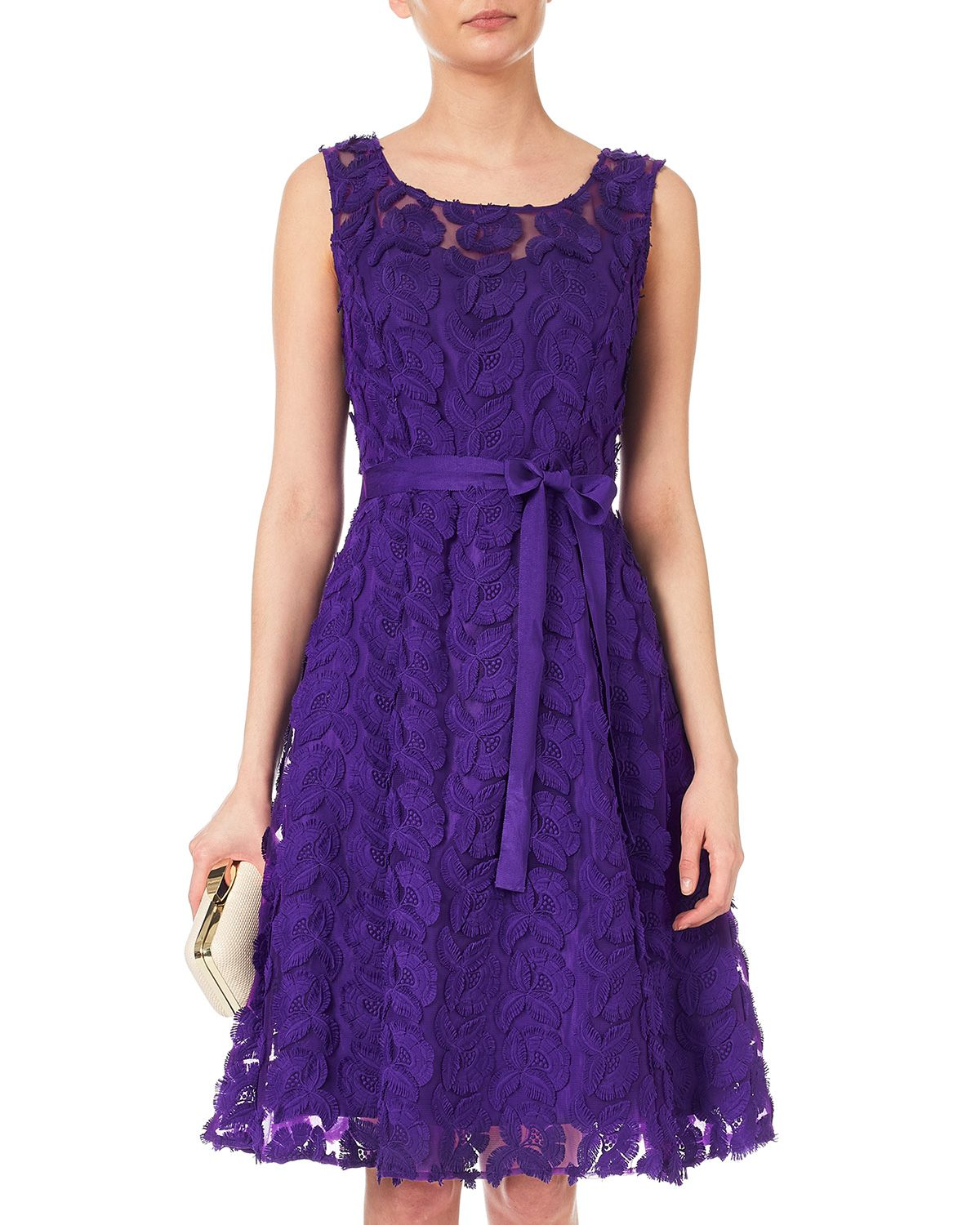 Dresses | Purple Cher Flower Dress | Phase Eight | Zakuska | Pinterest