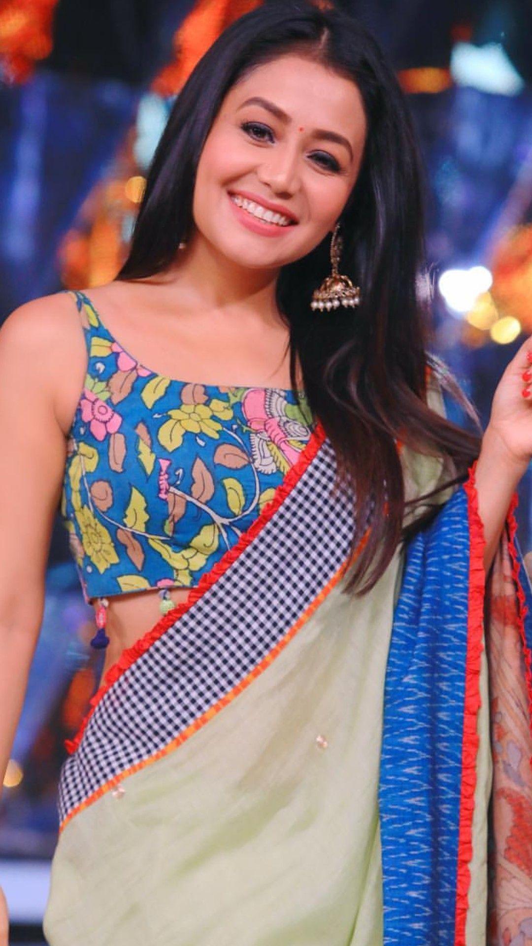 Pin By Supriya Waghmare On Neha Kakkar Neha Kakkar Dresses Fashionable Saree Blouse Designs Fashion