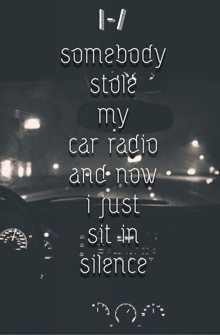 Car Radio Twenty One Pilots lyrics Twenty One