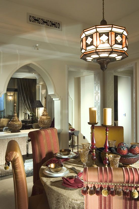 wonderful modern moroccan islamic interiors designs : luxury