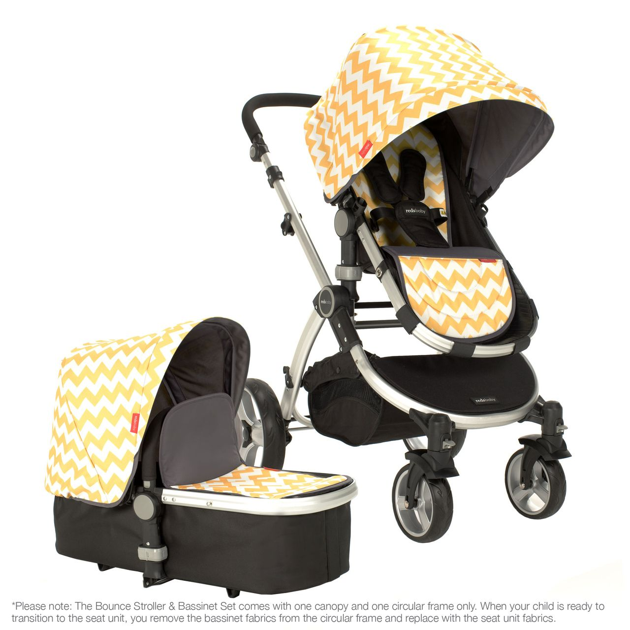 Bounce Stroller & Set (Lemon Zest) Stroller